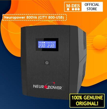 Neuropower 800VA (CITY 800) Line Interactive  UPS
