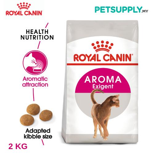 Royal Canin Dry Cat Food Exigent 33 Aromatic 2kg [makanan kucing - PETSUPPLY.MY]