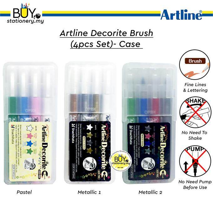Artline Decorite Brush- (Case)