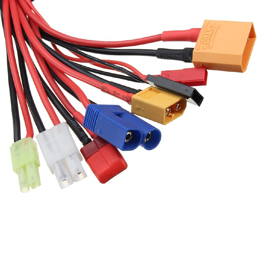 Mobile Cable & Chargers - RC Lipo Battery Multi Charger Plug Adapter Charging Cable Converter