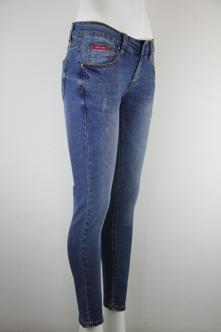 GOGGLES Ladies Denim Jeans Slim Fit Medium Blue 100355
