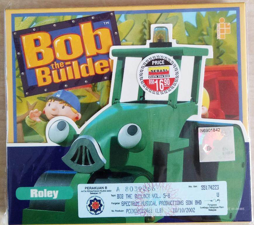 British Children\'s Animated TV Show - Bob The Builder Roley 2VCD 6 Episodes