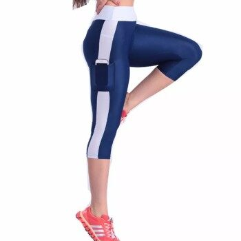 Women Sport Yoga fitness with Side Pocket Casual Slim Fit Leggings Tight Pants
