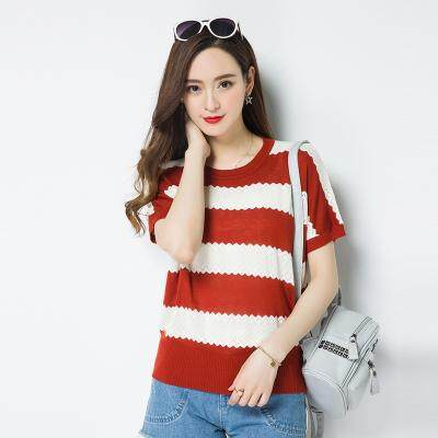 (Pre Order14 Days JYS Fashion Korean Style Women Knit top Collection521-8739col521-8739--wine red -L