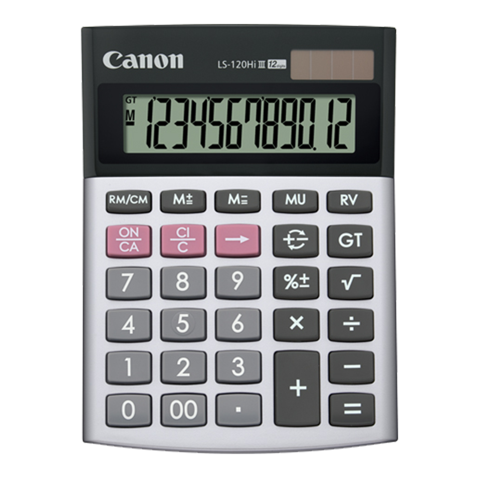 Canon Calculator LS-120 HI III