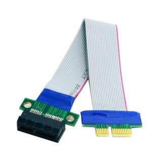 Ruy Băng Mở Rộng Thẻ Riser PCI Expres X1 PCI E, Cáp Di Chuyển Flex thumbnail