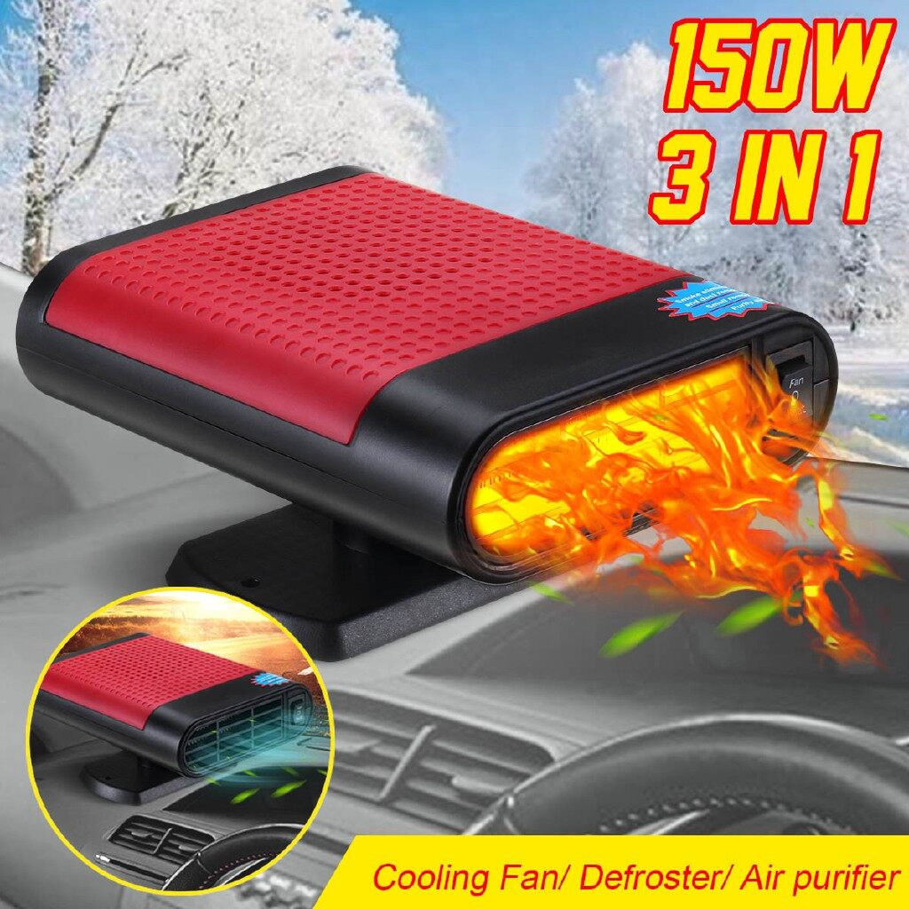Engine Parts - 150W Car Auto HeaterCool Fan Windscreen Demister Defroster - Car Replacement