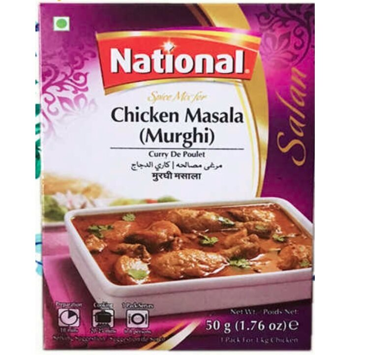 NATIONAL CHICKEN MASALA (MURGHI) 50 GM