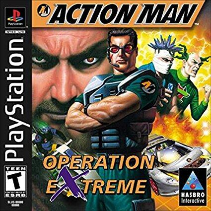 PS1 ACTION MAN - OPERATION EXTREME