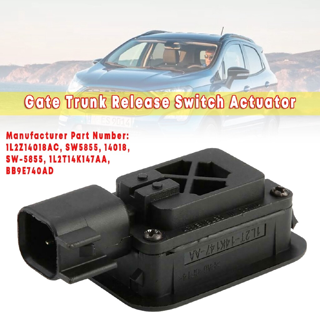 Automotive Tools & Equipment - Black Gate Trunk Release Switch Actuator Fits for Ford OEM 2003- - Car Replacement Parts