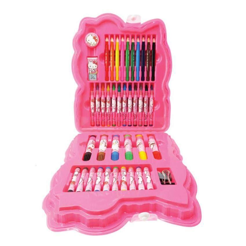 Sanrio Hello Kitty 42pcs Art Set - Pink Colour