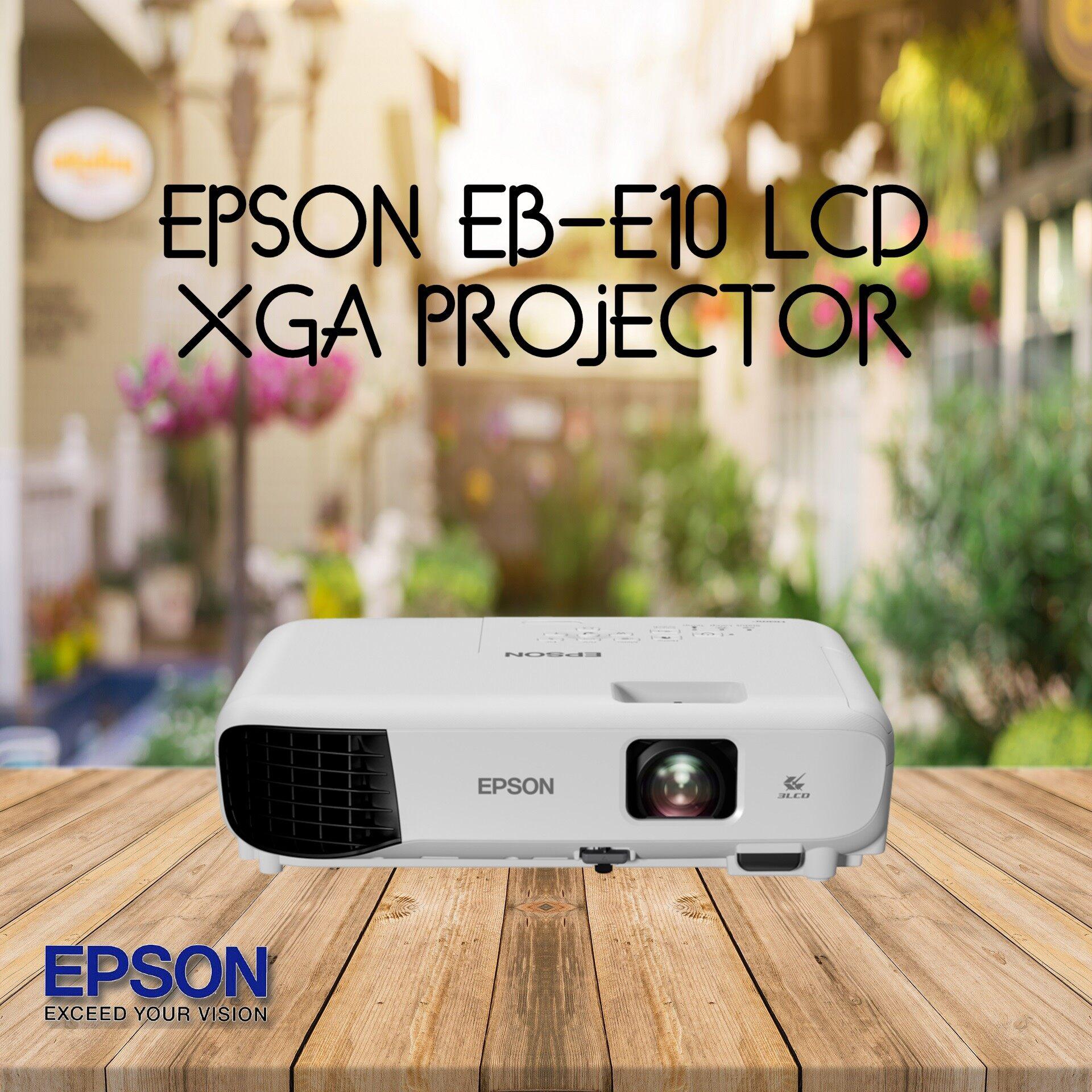 Epson EB-E10 XGA 3LCD EB E10 Projector REPLACED EB-S41
