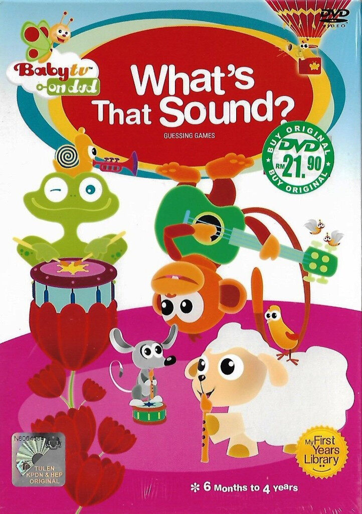 Baby TV on DVD What\'s The Sound DVD 6 Months To 4 Years