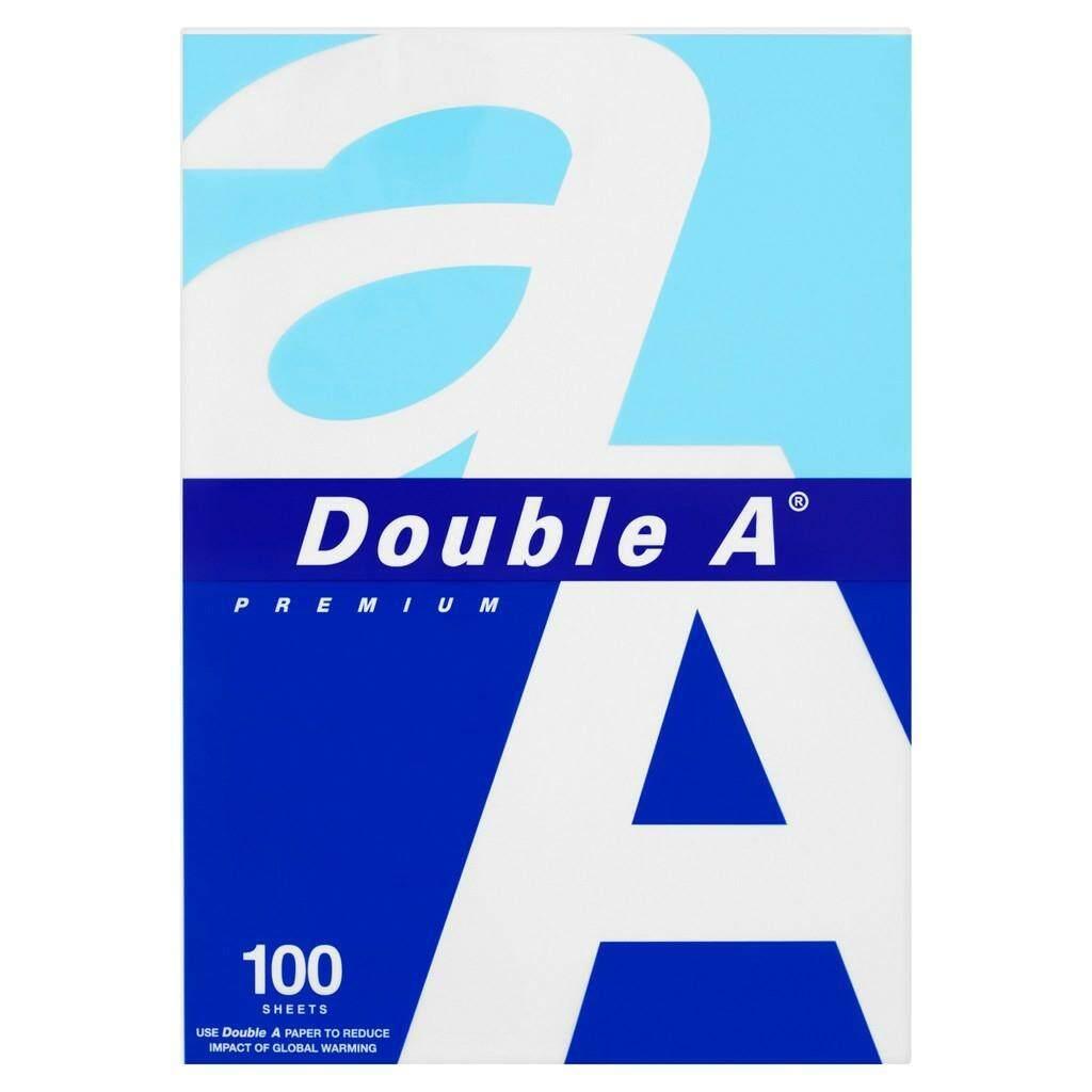 Double A Copier Paper A4 (80g x 100's)