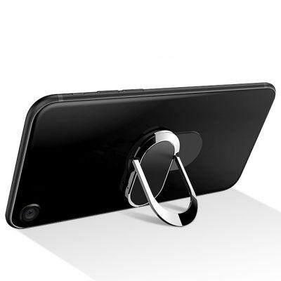 New Magnetic Mobile Phone Ring Buckle Bracket (BLACK)