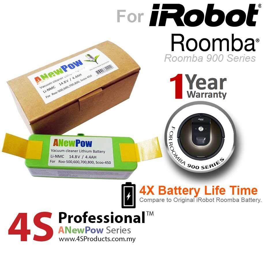 iRobot Roomba 900, 960, 980 Lithium Battery Replacement High Capacity 4400mAH