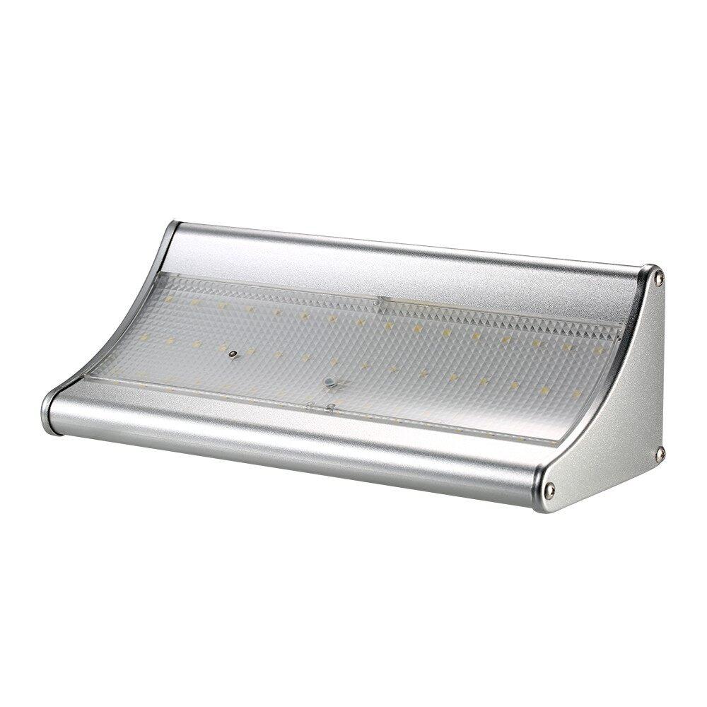 Outdoor & Garden - Outdoor Solar Light 48 LED 900 Lumen PIR Motion Sensor with Aluminum Alloy Housi - 1.5W
