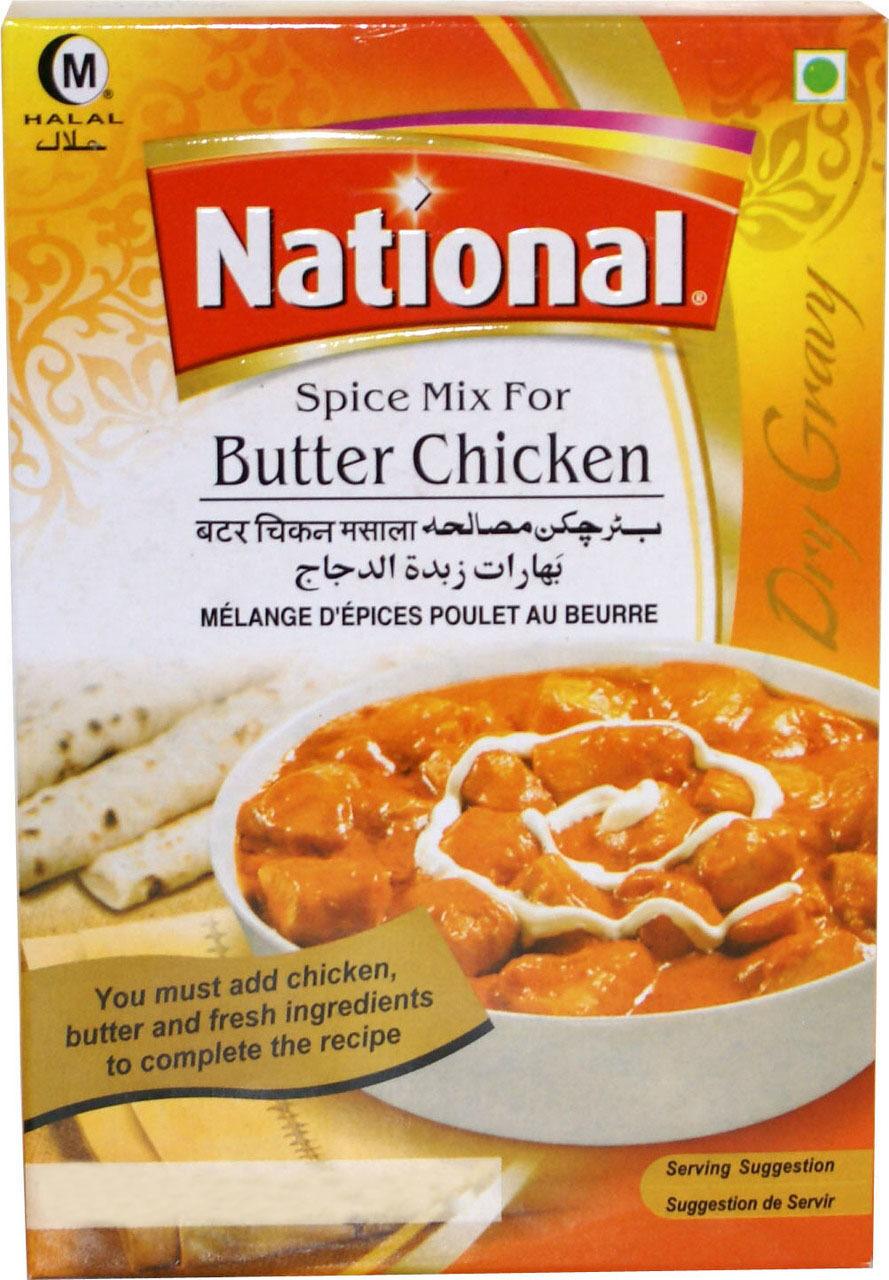 NATIONAL BUTTER CHICKEN MASALA 50 GM