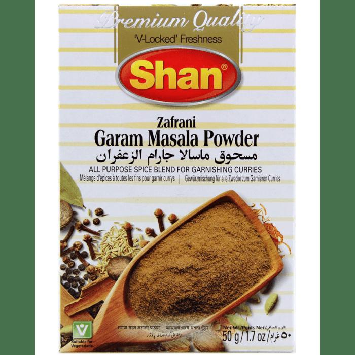 SHAN ZAFRANI GARAM MASALA POWDER 50 GM