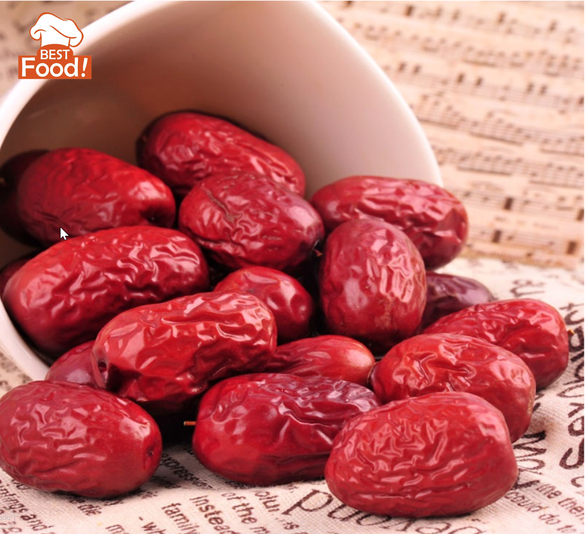 (100 grams) Red Dates  - Size L ()