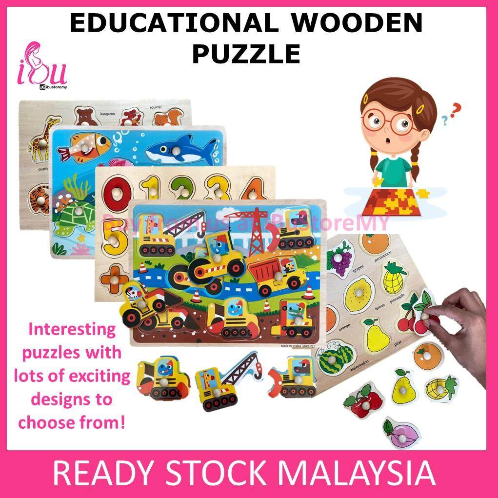 Wooden Puzzle Kid Early Educational Toys Baby Learning Jigsaw Toy