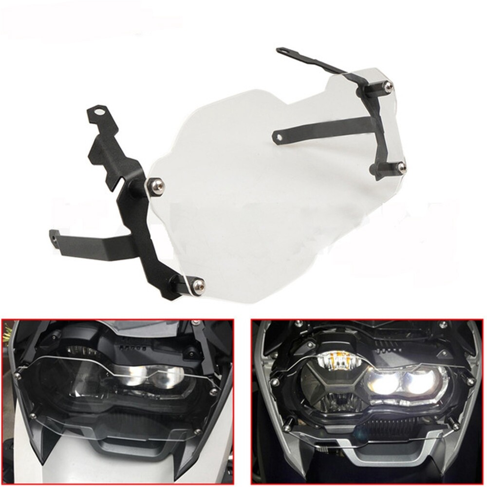 Moto Accessories - Front Headlight Guard Cover Lens Protector Grill For 2013-2017 BMW R1200GS Adv - Motorcycles, Parts