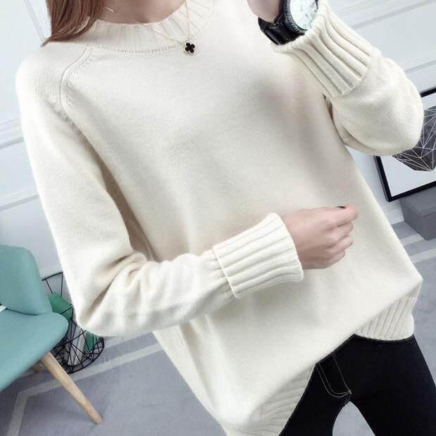 (Pre Order14 Days JYS Fashion Korean Style Women Knit TopCollection526-9860col525a-9860--Rice White -S