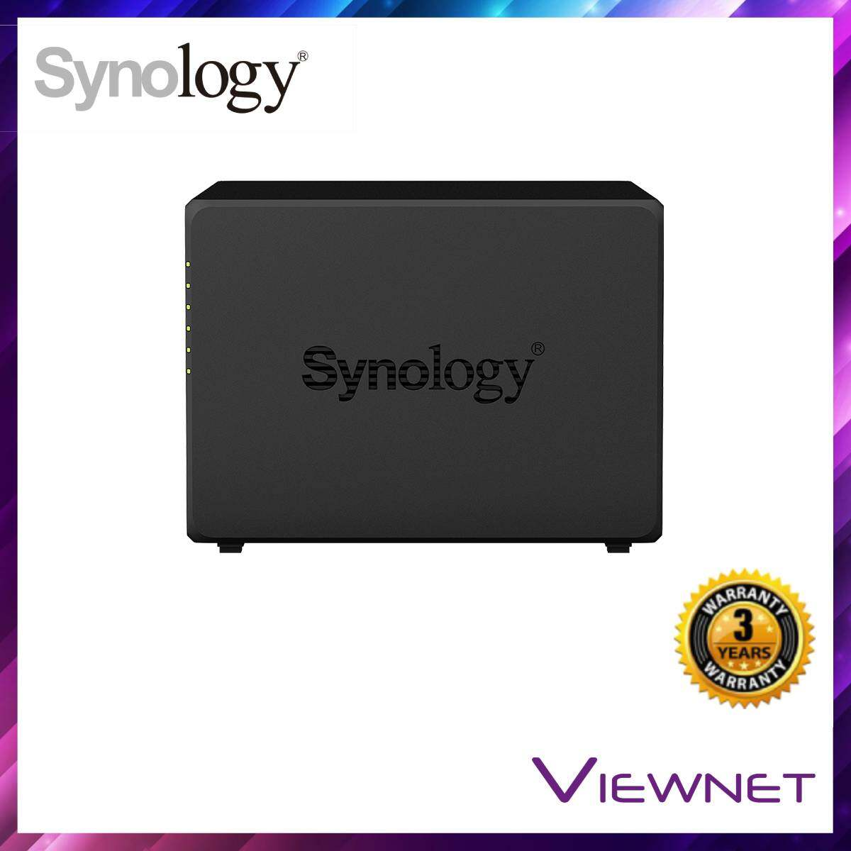 Synology Enclosure 5-BAYS/Intel Celeron J3455 QC 1.5GHz/8GB (DS1019+) NAS