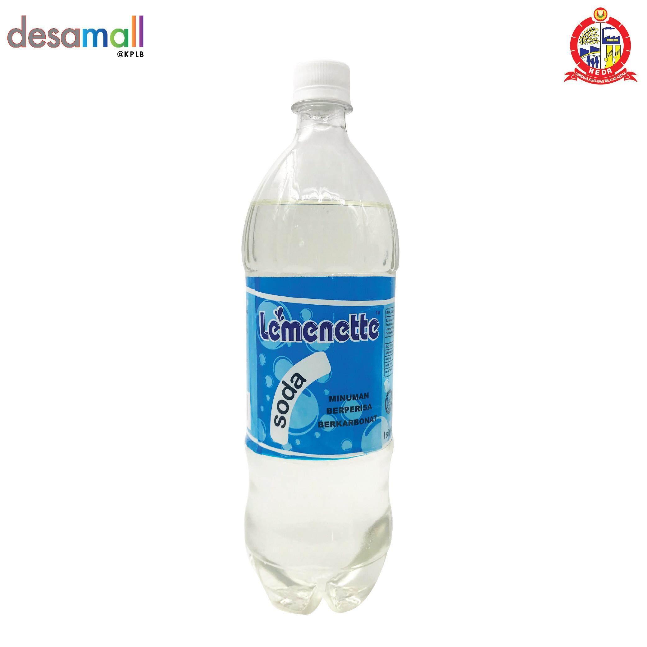 LEMENETTE Minuman Berkarbonat Berperisa Soda (1.25L)