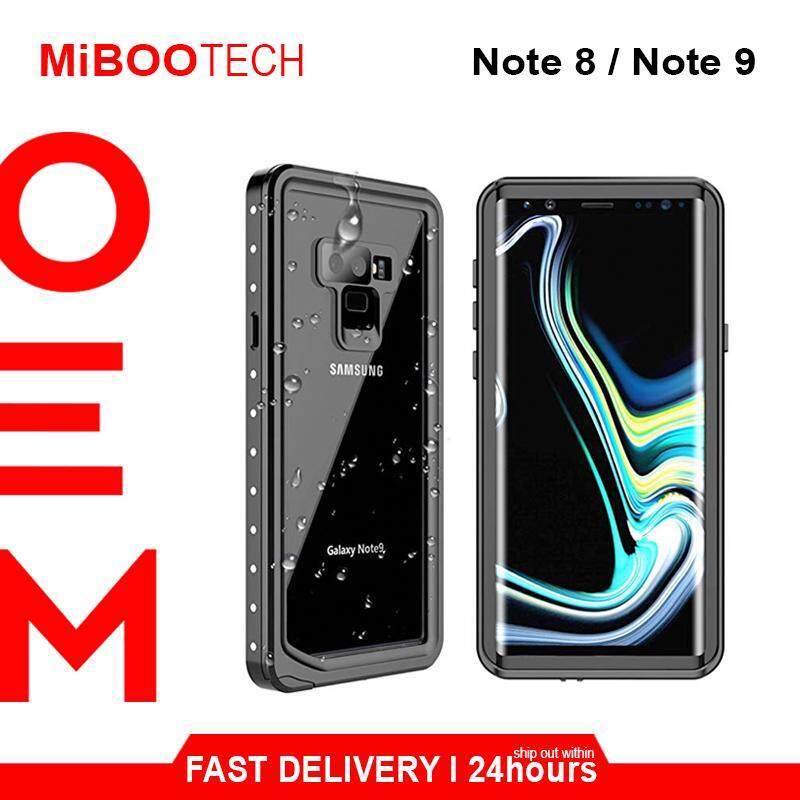 [Miboo] Tough Armor Note 9 Waterproof Case l Note 8 Waterproof Shockproof Dustproof Protective Case Cover Travel Partner Self-Care - Note 9 - Black