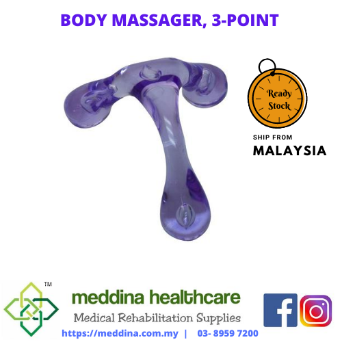 Body Massager, 3-point