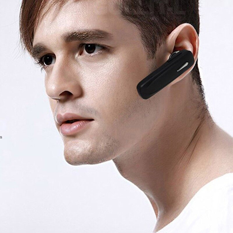 M163 BLUETOOTH Earphones 4.1 Wirelesse Stereo Bass Head SET Sport Handsfree Earbuds - BLACK / WHITE