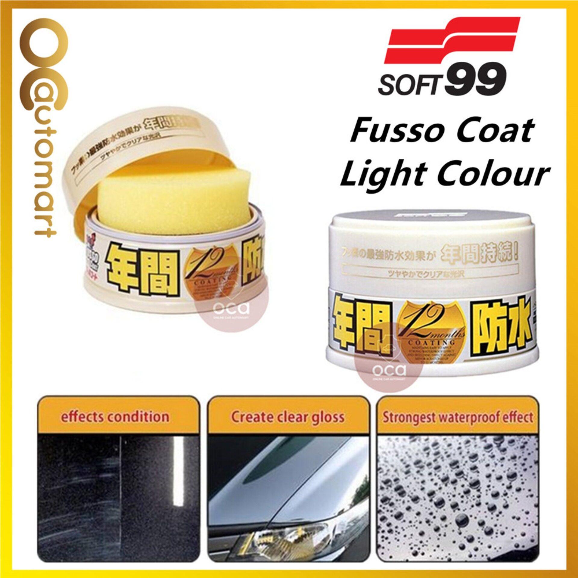 Soft 99 / Soft99 Fusso Coat 12 Months Light Color Wax - 200g