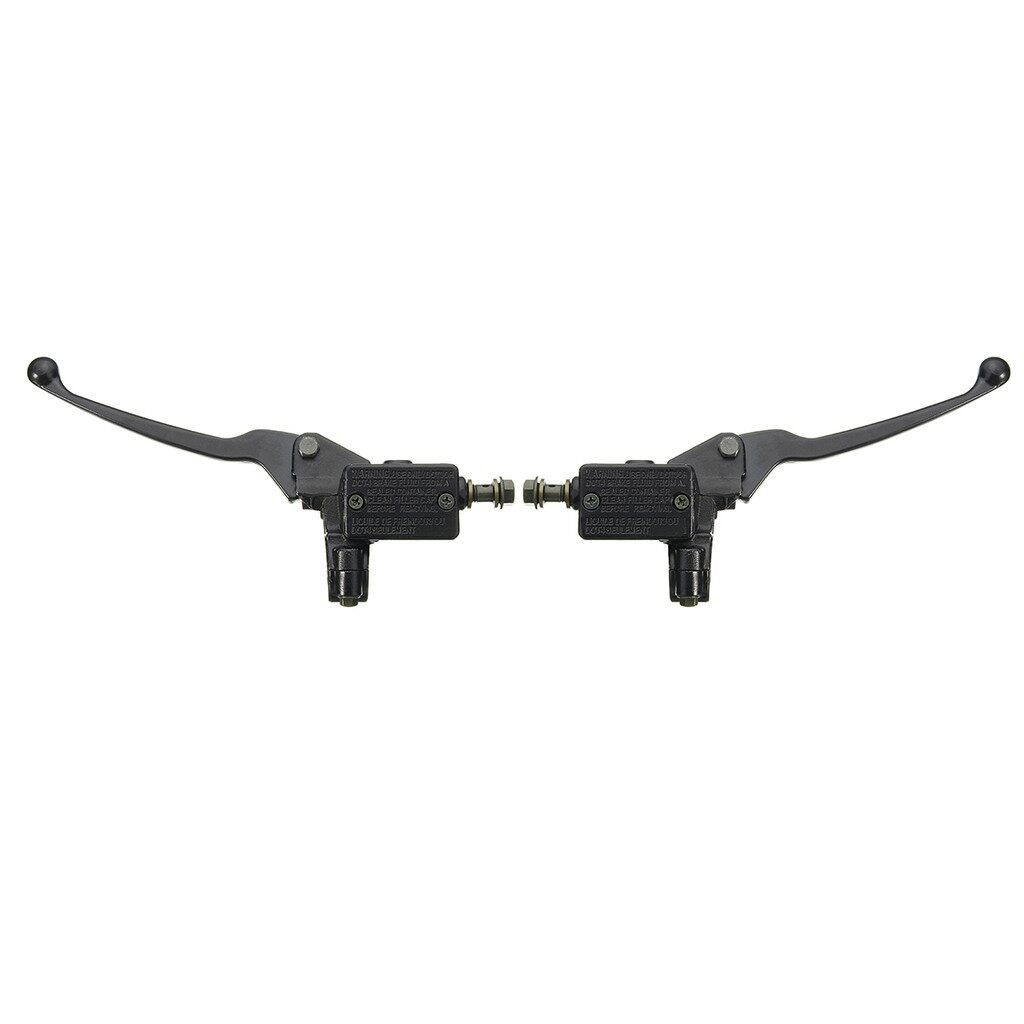 Moto Accessories - 1x 8mm Motorcycle Handlebar Hydraulic Brake Clutch Master Cylinder Lever Bike - RIGHT / LEFT