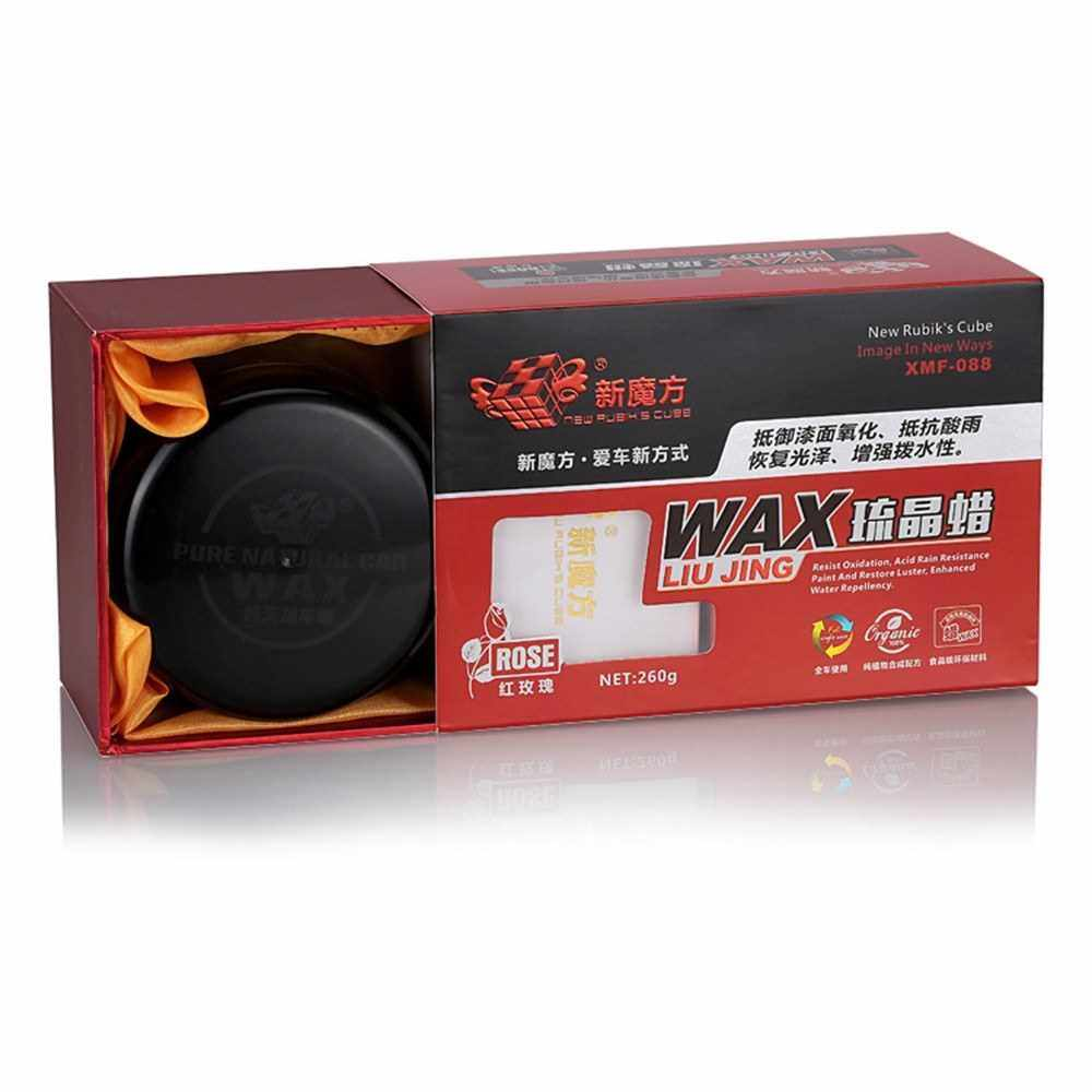 Auto Care Car Wax Plating Set Hard Glossy Covering Paint Surface Coating Waterproof Film Red (Red)