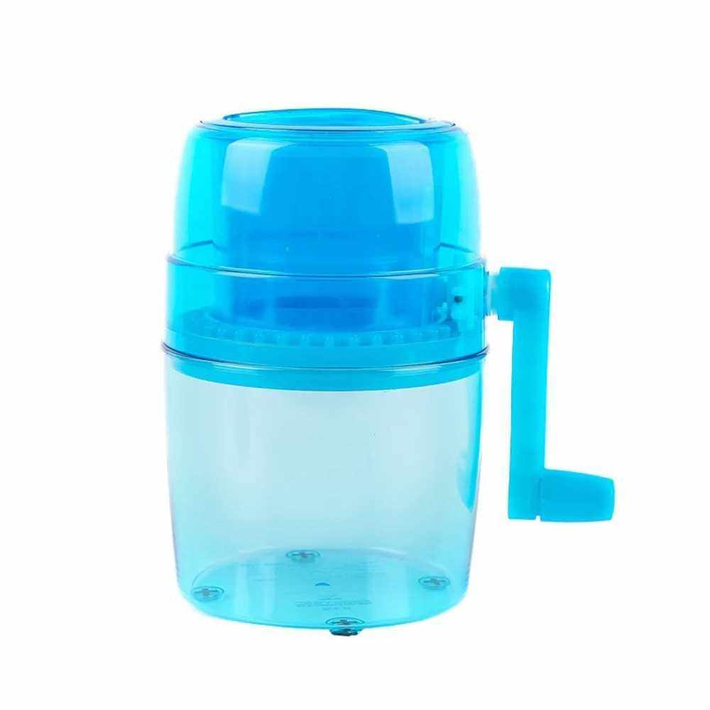 Ice Shaver, Shaved Ice Machine, Hand Crank Operated Ice Breaker Ice Crusher Maker Snow Cone Machine with Stainless Steel Blades for Fast Crushing, Fun and Easy Iced Treat (Standard)