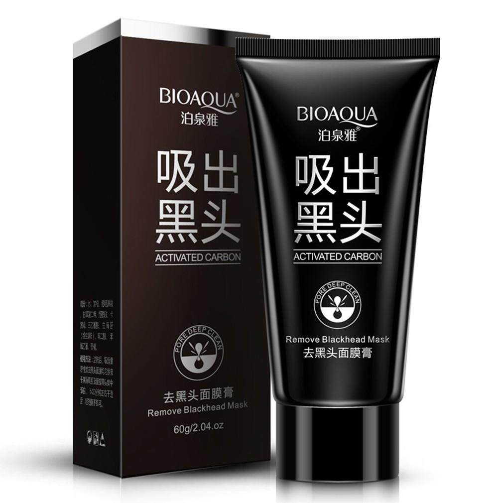 Face Mask & Packs - BIOAQUA Blackhead Remover Deep Cleansing Peel Off Acne Black Mask - Skincare
