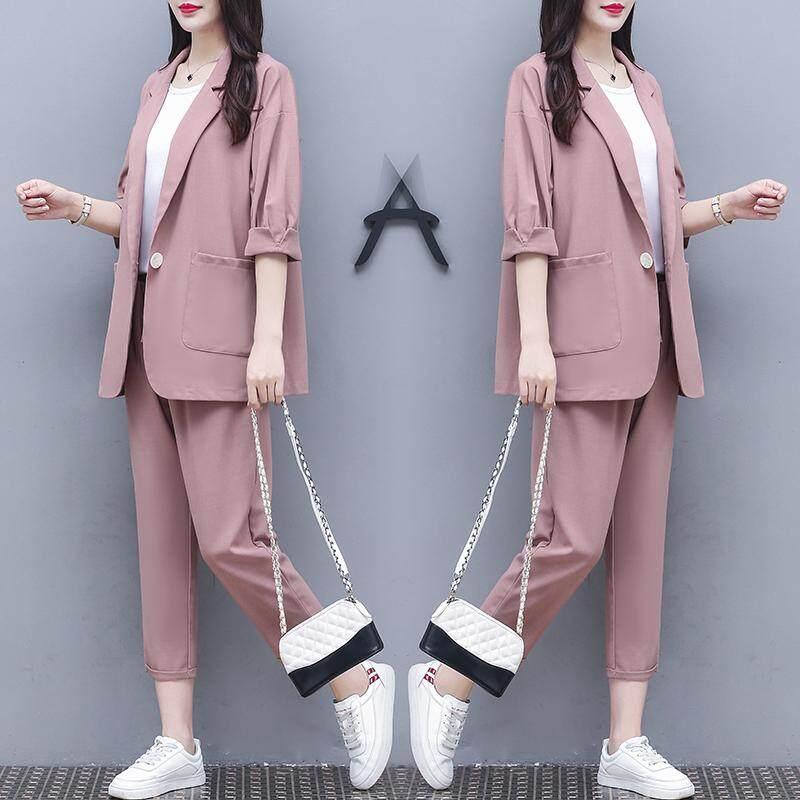 (Pre Order14 Days JYS Fashion Korean Style Women Blazer Suit Collection 525a-5963col525a-5963--Pale Pinkish -S