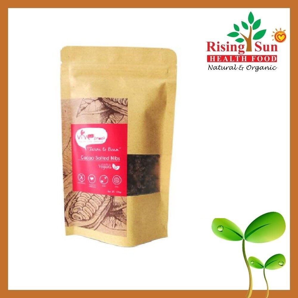 ViVe Snack Cacao Salted Nibs 100g