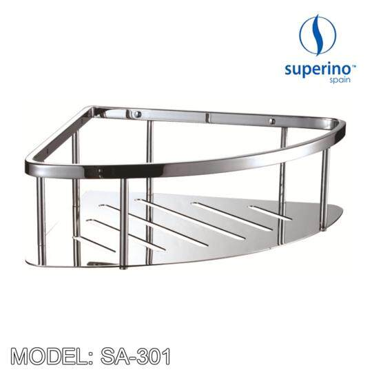 SUPERINO SA 301 STAINLESS STEEL CORNER TRAY 9""