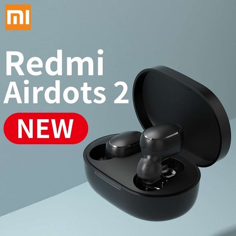 Original Xiaomi Redmi AirDots 2 Wireless Bluetooth Headset 5.0/The new second-generation Redmi Bluetooth headset