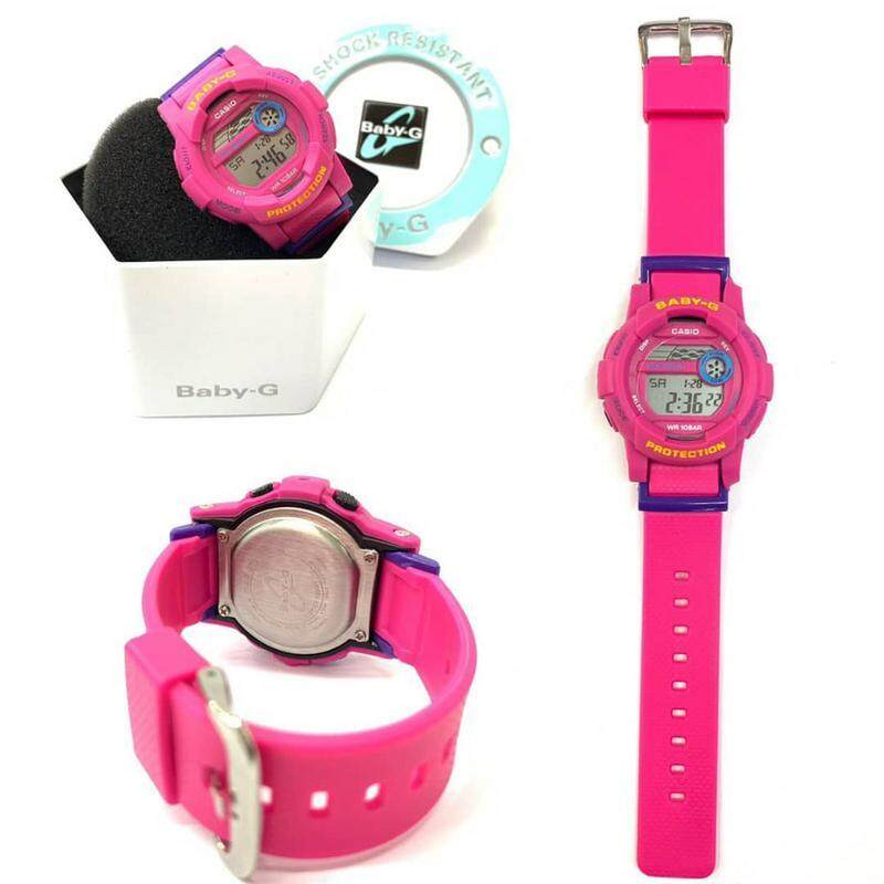 New Sport Mudmaster Casio_Baby_G_Dual Time Dual Time Display Fashion Casual Watch For Woman Ready Stock 100% Mineral Glass New Design
