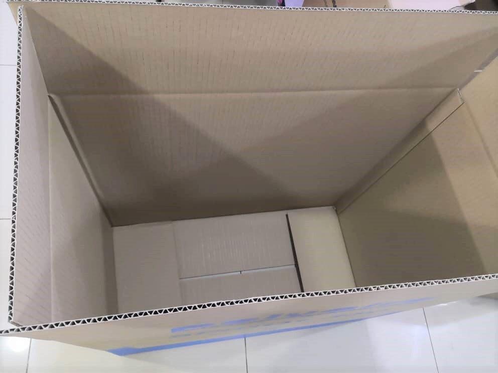 5pcs Printed Carton Boxes (L750 X W375 X H693mm)