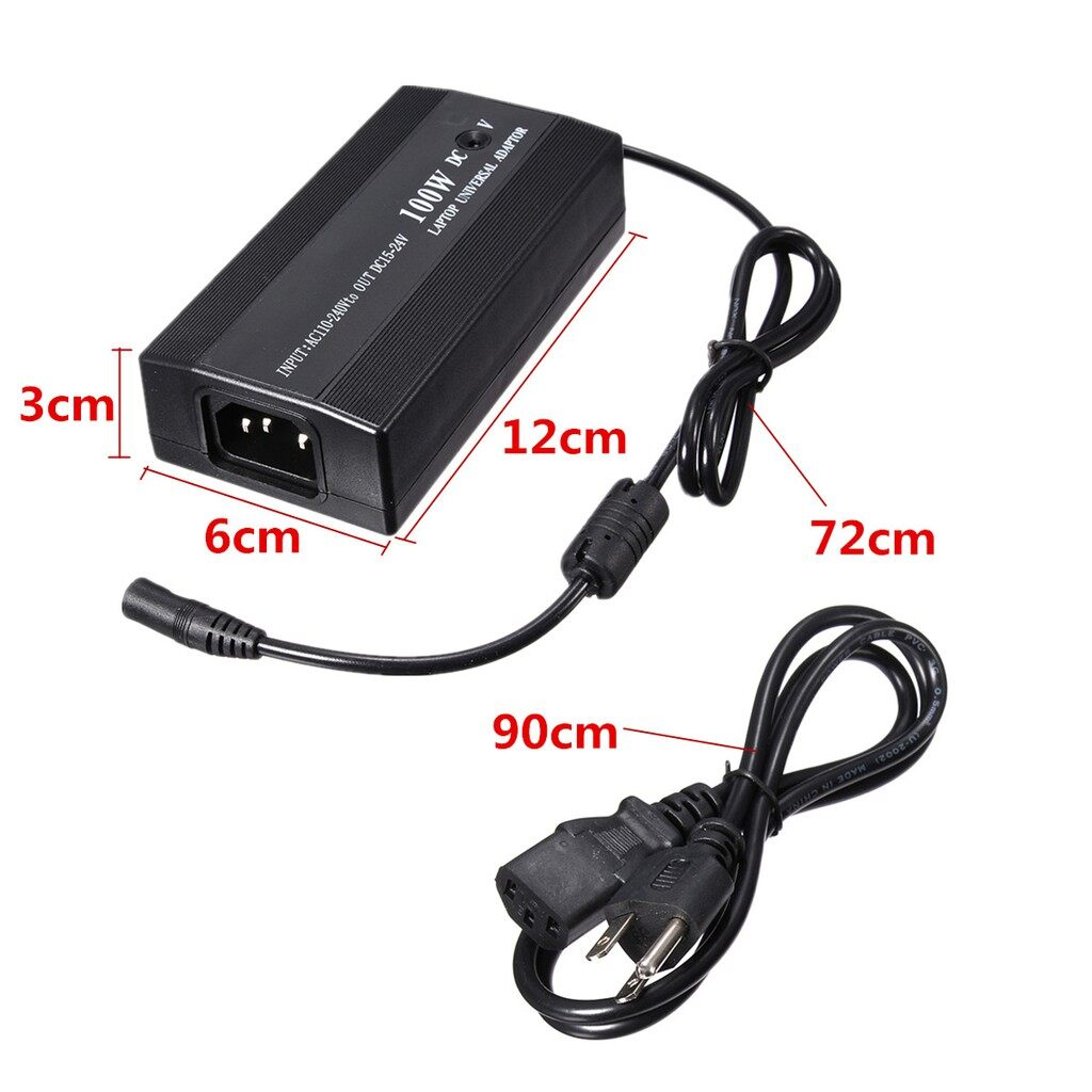 Chargers & Power Supply - Universal 100W AC to DC in Car Plug Power Charger Adapter For Laptop PC Notebook - Components