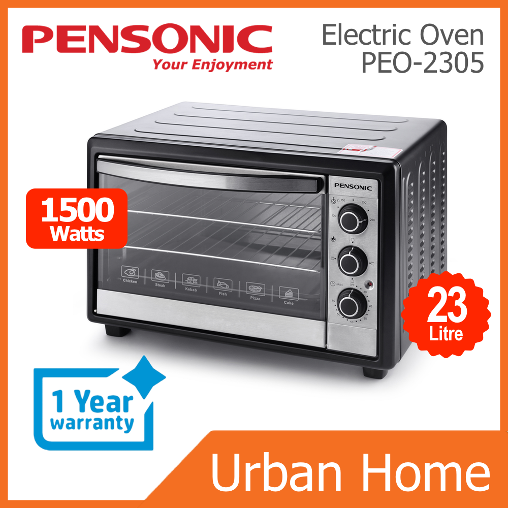 PENSONIC 23L Multi Function Electric Oven (PEO-2305/PEO2305)