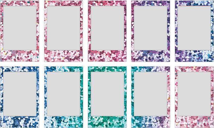 FUJIFILM INSTAX Mini Confetti Instant Film (10 Sheets)