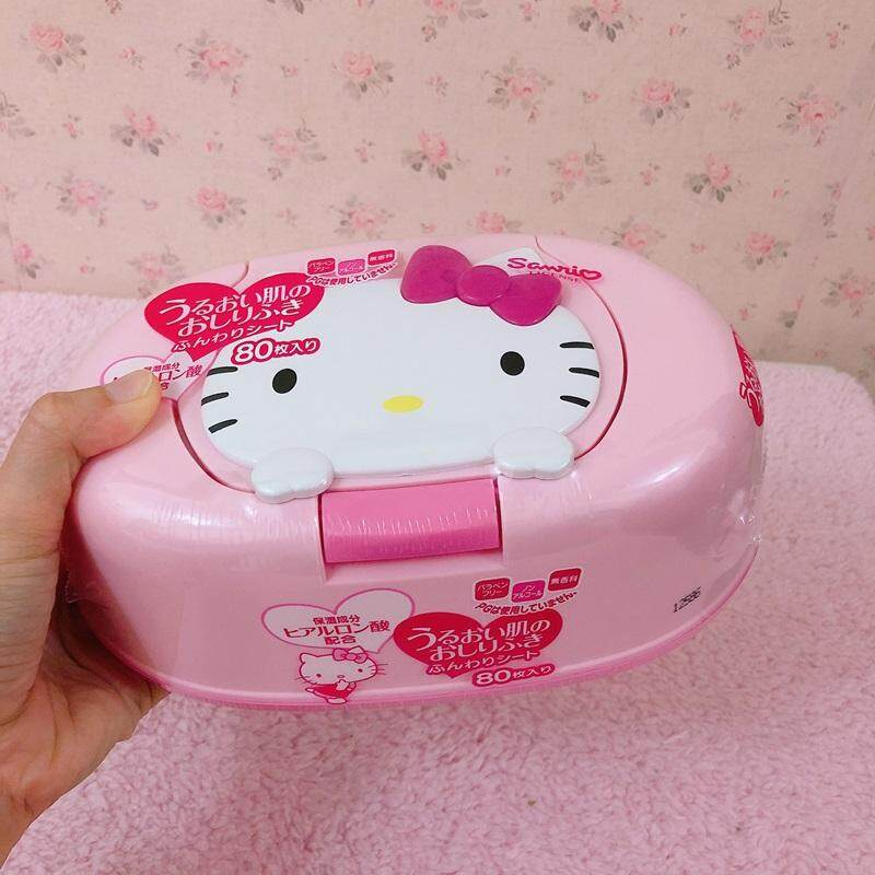 Hello Kitty My Melody Wet  Tissue Box Set