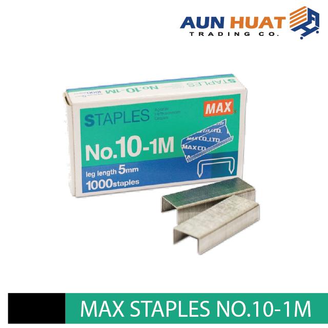 Max Staples No.10-1M 5mm For Normal Stapler