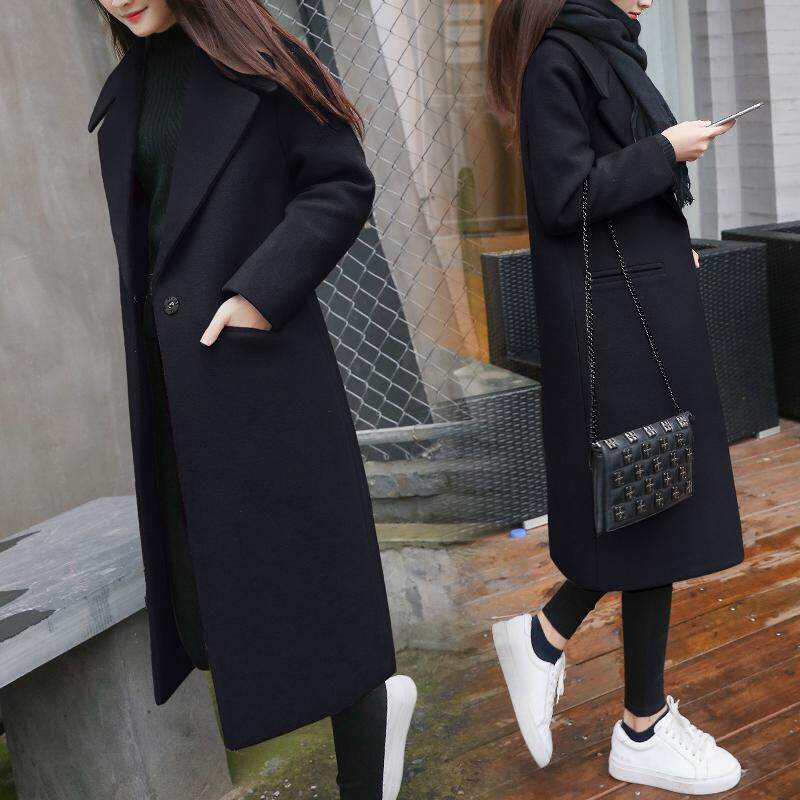 (Pre Order14 Days JYS Fashion Korean Style Women Winter CoatCollection522-4096col522-4096--Black -S