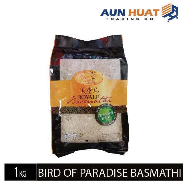 Bird of Paradise Royale Basmathi Rice 1 kg